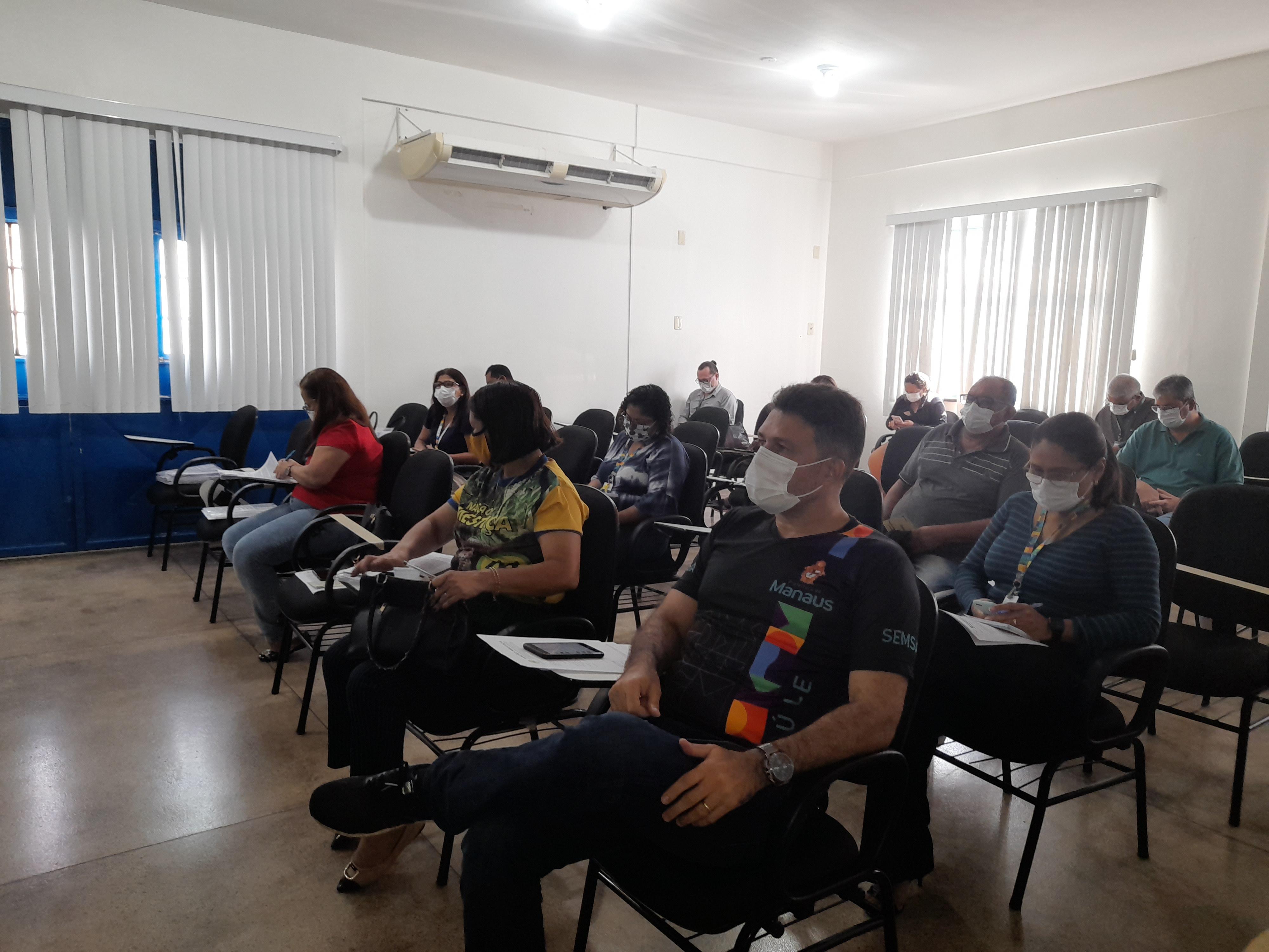 Conselheiros de Saúde discutem execução do concurso público da Semsa