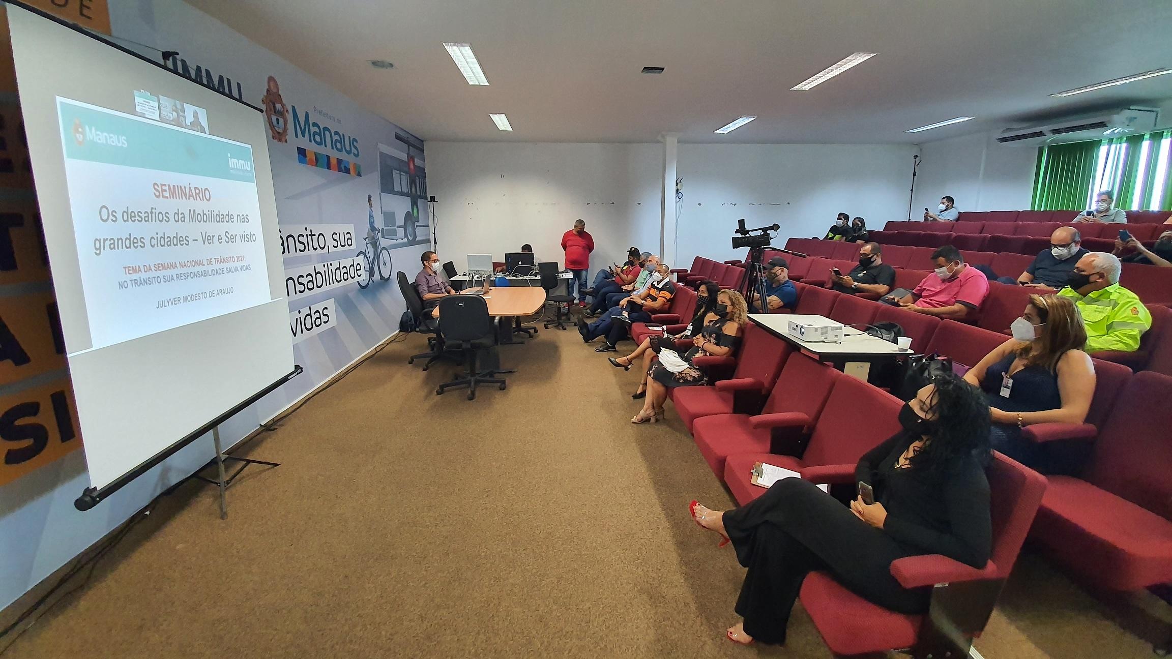 Prefeitura promove seminário sobre mobilidade urbana na Semana Nacional de Trânsito